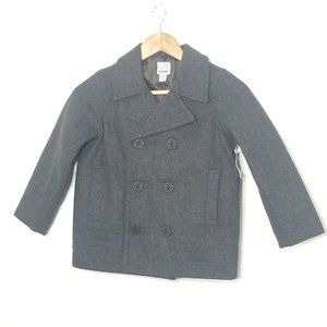 ♥️HostPick♥️ 🆕️Old Navy Gray Kids Wool Blend Peacoat